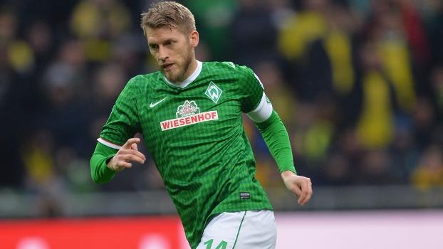 Aaron Hunt, capitão do Werder Bremen, deve deixar o clube no meio deste ano