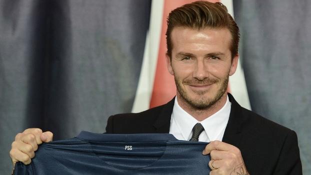 Beckham treinou no Arsenal antes de ir para o PSG