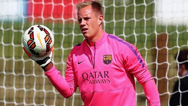 Ter Stegen foi contratado nesta temporada pelo Barcelona junto ao Borussia Monchengladbach