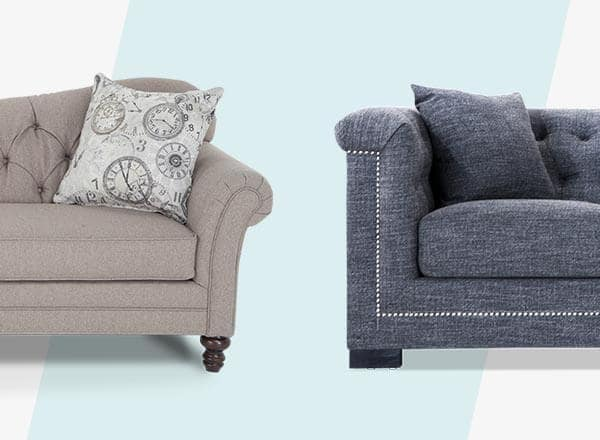 give your living room or family room a luxurious look with a tufted sofa or chaise lounge this timeless look will instantly add style to any room