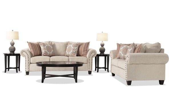sink into one of my plush sofas lounge on one of my cozy chairs or set a beverage on one of my stylish coffee tables and you re good to go