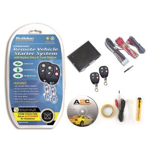Bulldog Security Remote starter with keyless entry RS1200