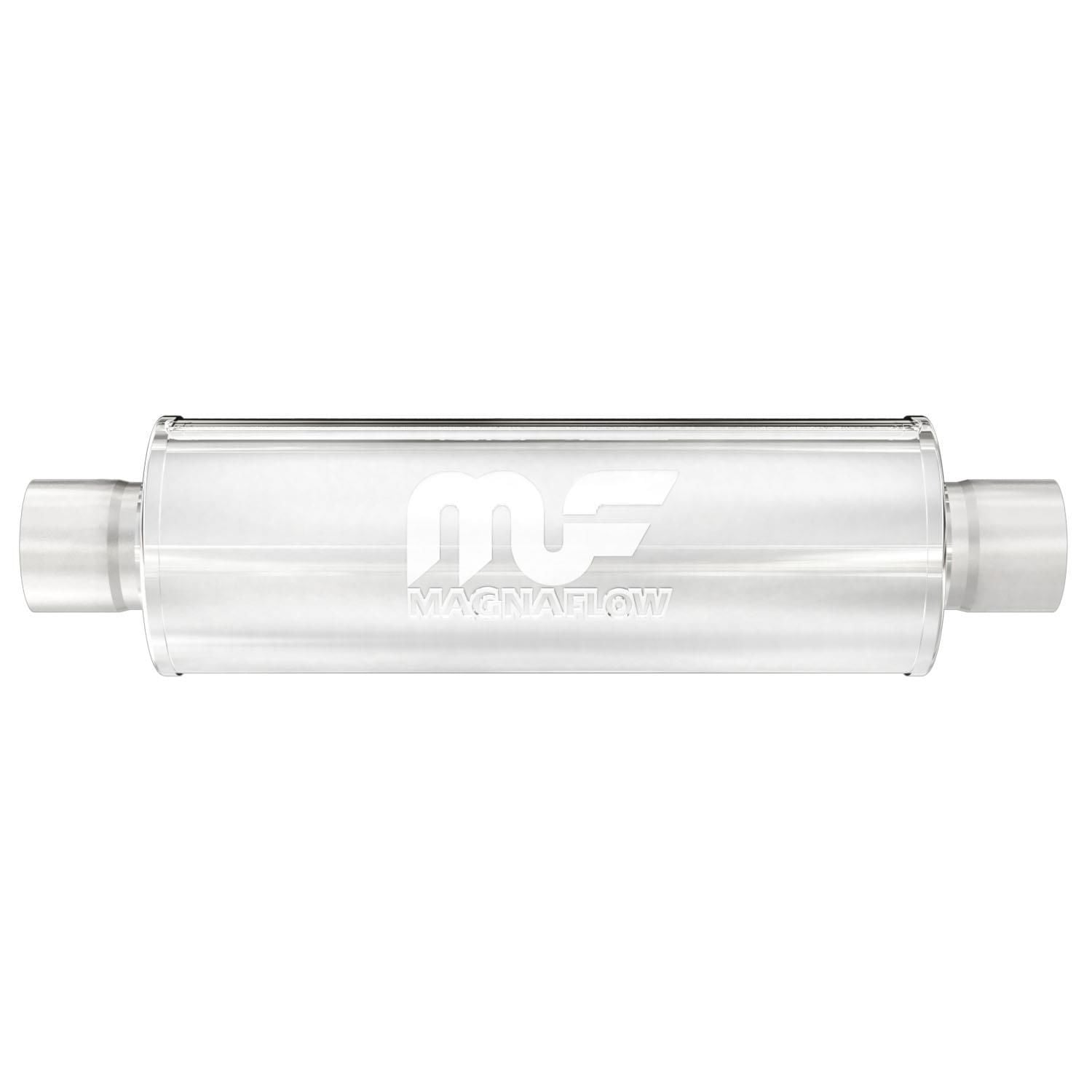 magnaflow exhaust products 10416 2 1 2in center inlet x 2 1 2 center outlet exhaust muffler