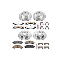 Performance Brake Pads / Rotors Kit for Cars, Trucks & SUVs