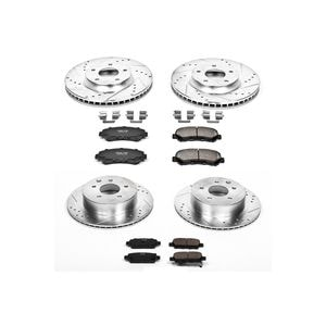 Power Stop Performance Brake Pads / Rotors Kit K5818