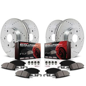 Power Stop Performance Brake Pads / Rotors Kit K800