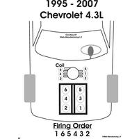 2006 Chevrolet Truck Silverado 1500 2WD 4.3L SFI OHV 6cyl