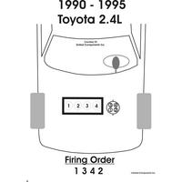 1994 Toyota Truck Pickup 2WD 2.4L MFI SOHC 4cyl