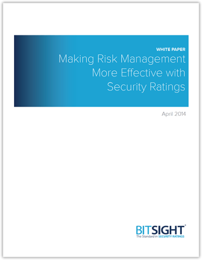 Are You Using Security Ratings to Mitigate Risk?