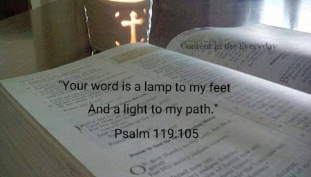 bible-with-cross-candle-psalm-119105