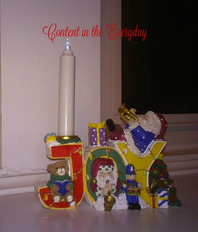 Joy Candle Holder