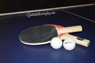 Pingpong paddles and balls