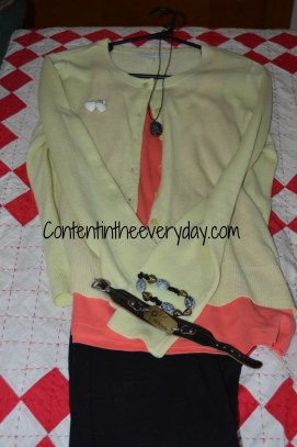 Bright Colored Outfit