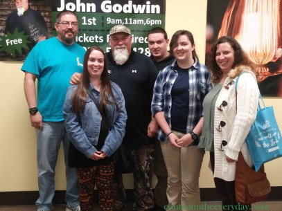 Bailey Sue and family with Godwin1