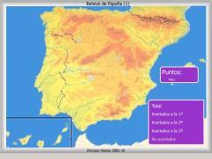Relieve de España. ¿Dónde está?