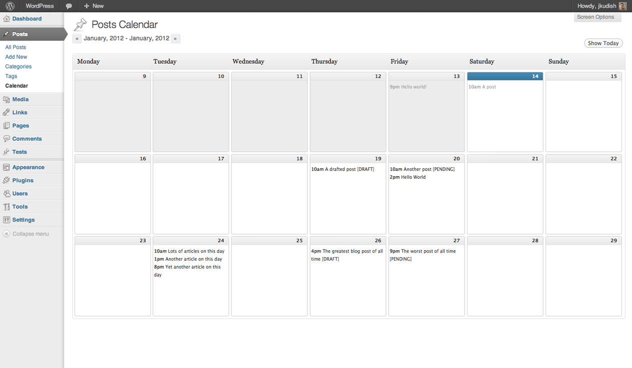 hight resolution of editorial calendar example image 3