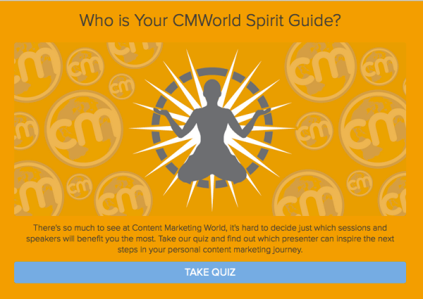 CMI spirit guide quiz