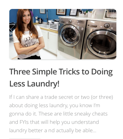 clean my space blog