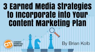 3 Earned Media Strategies