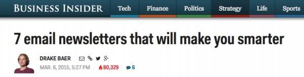 Think Smart- Headline