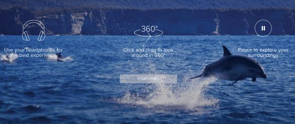 Tourism australia 360-degree video