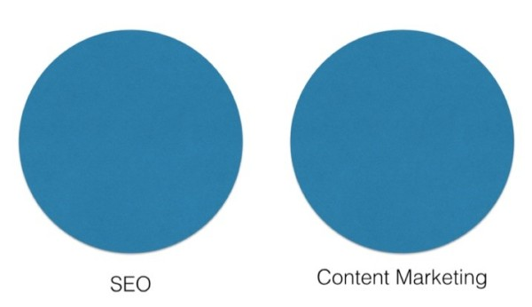 seo-content-marketing-treated-separately