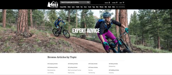 rei-expert-advice-website