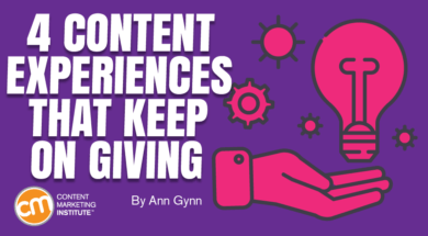 four Content material Experiences That Hold On Giving 1