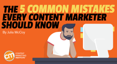 The 5 Frequent Errors Each Content material Marketer Ought to Know 1