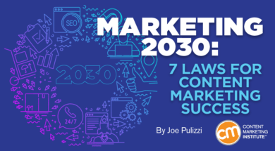 7 Legal guidelines for Content material Advertising and marketing Success 1