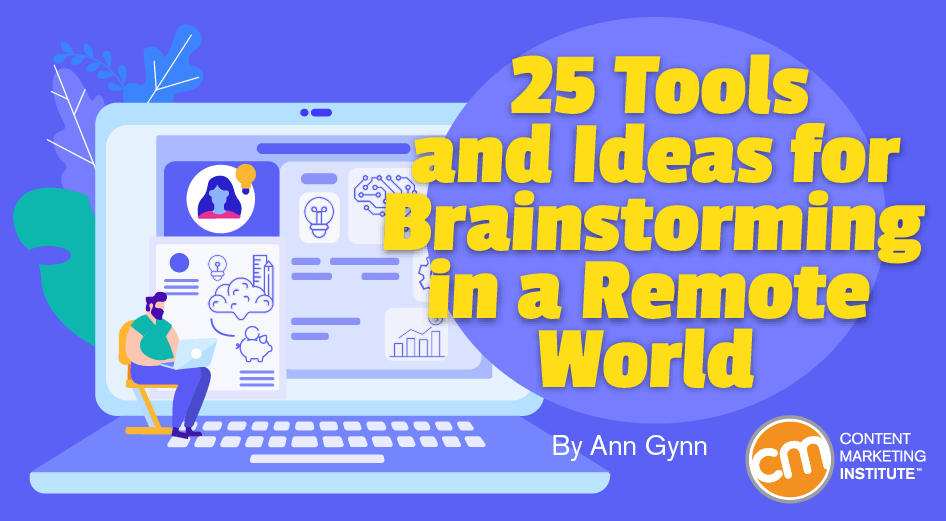 25 tools and ideas for brainstorming in