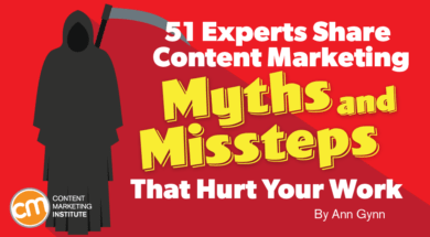 experts share content marketing myths hurt work Twin Front