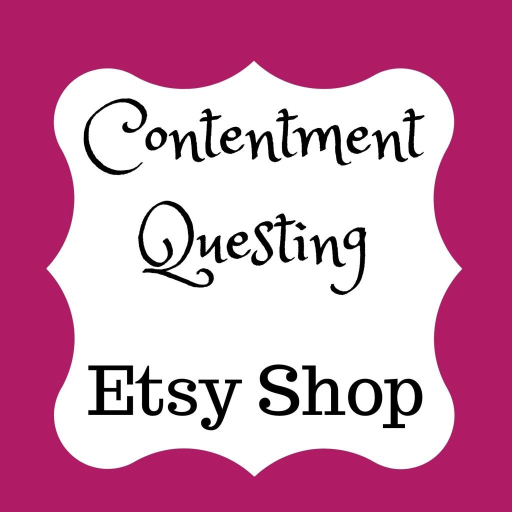 Contentment Questing Shop on Etsy Title