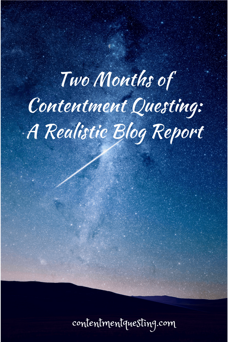 Two Months of Contentment Questing_ A Realistic Blog Report