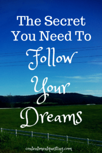 follow your dreams, pursue your dreams, inspiration
