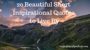 inpirational quote, beautiful quote, short inspirational quote, quotes to live by, short inspirational quotes to live by, inspiration, contentment questing