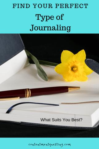 journal, journaling, type of journaling, bullet journal, free write journal, dream journal, bible journal, art journal, planner, planner journal, how to journal, benefits of journaling