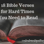 18 Bible Verses For Hard Times You Need to Read