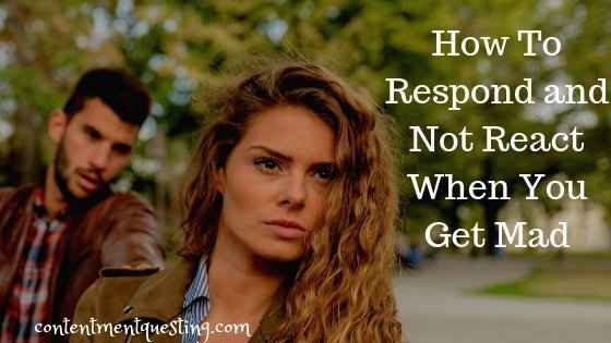 Learn to Respond and Not React Blog Banner