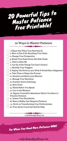 Patience Maser printable pin