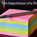 The Importance of a To-Do List