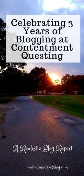 3 years of blogging at Contentment Questing Pin Temp 2