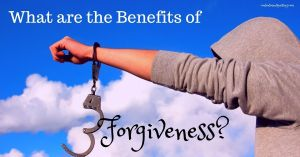 benefits of forgiveness blog title