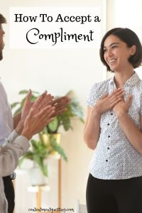 How to Accept a Compliment Pin 1 Title