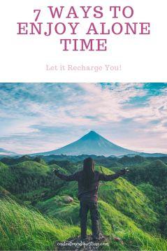 7 ways to enjoy alone time pin 1