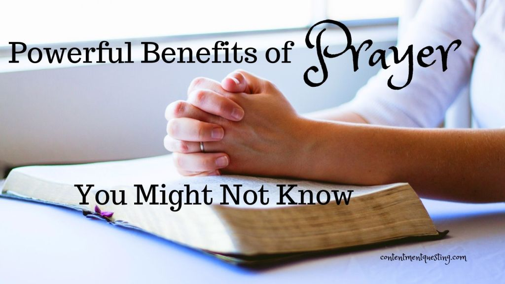 benefits of prayer title and twitter image