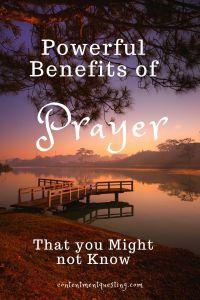 benefits of prayer cq pin design