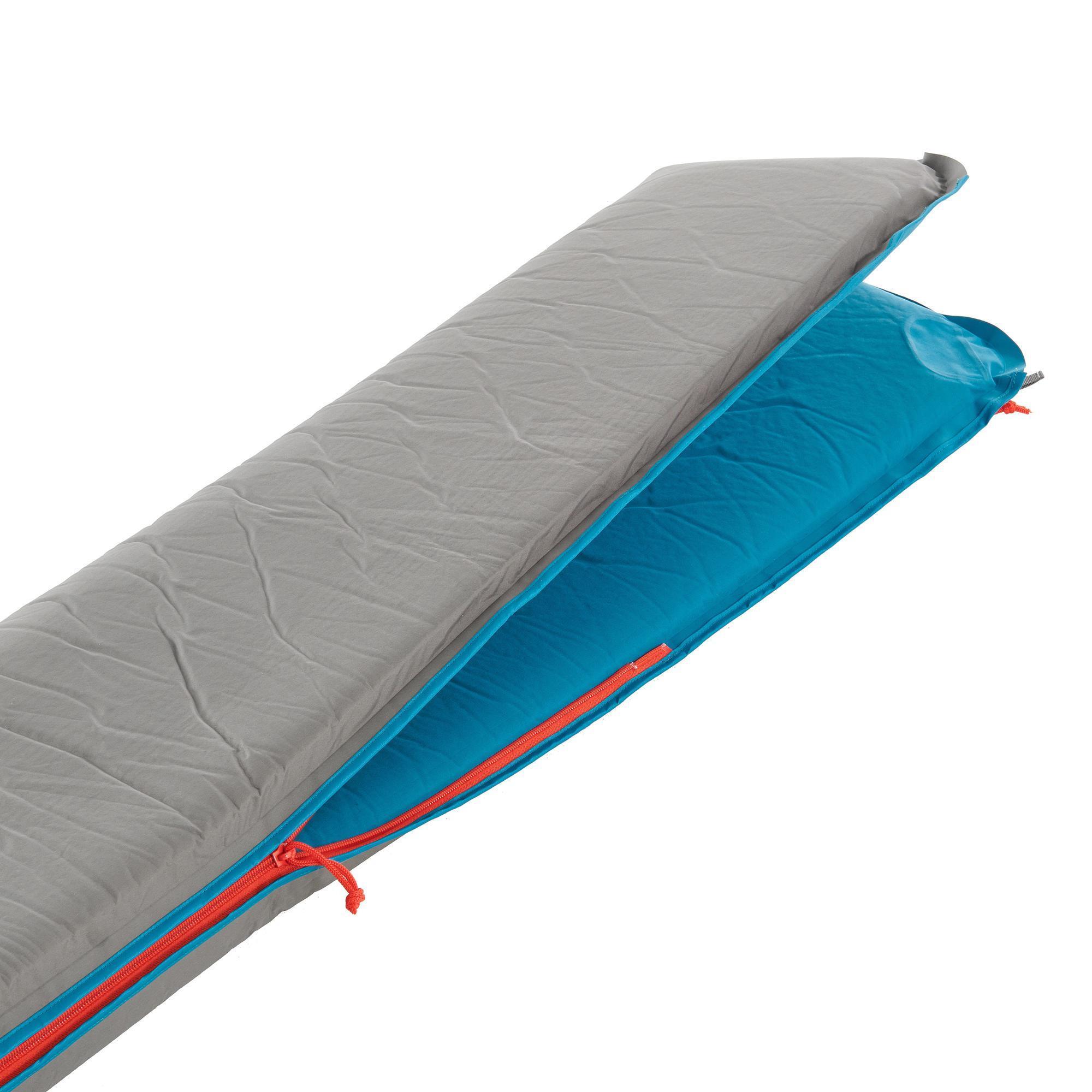 matelas autogonflant de camping comfort 65 cm 1 personne