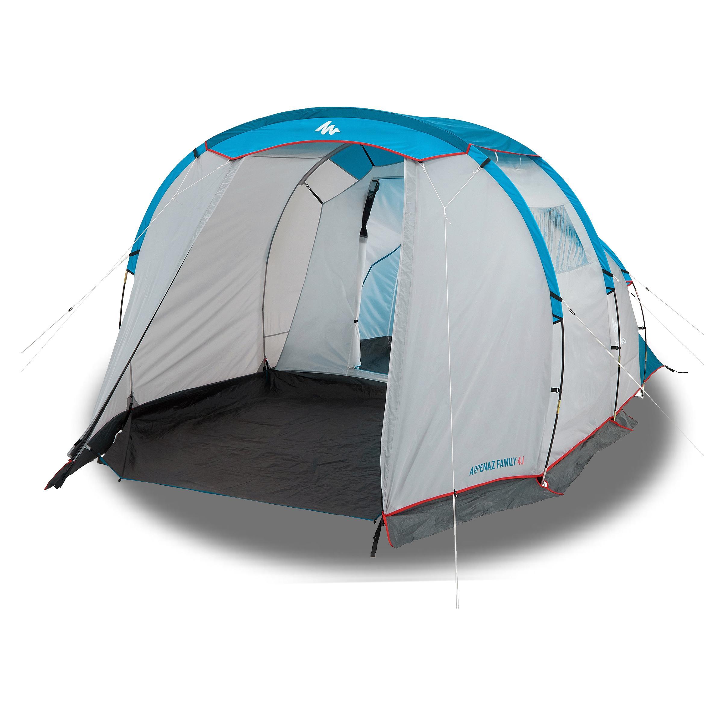tente de camping a arceaux arpenaz 4 1 4 personnes 1 chambre