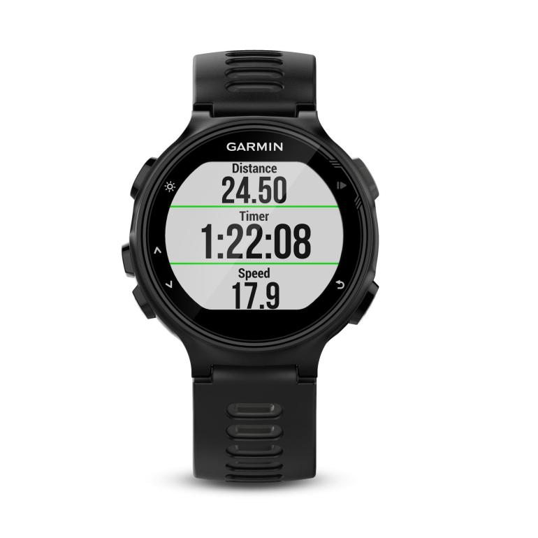 Garmin Forerunner 735 XT Multisport GPS Watch Wrist Heart Rate Monitor Black